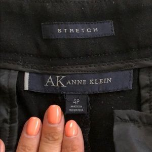 Anne Klein Stretch Black Pants
